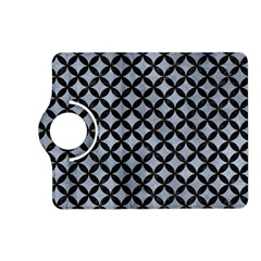 Circles3 Black Marble & Silver Paint Kindle Fire Hd (2013) Flip 360 Case by trendistuff