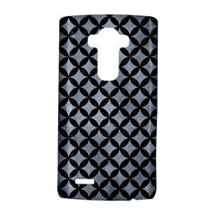 Circles3 Black Marble & Silver Paint Lg G4 Hardshell Case by trendistuff