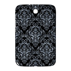 Damask1 Black Marble & Silver Paint (r) Samsung Galaxy Note 8 0 N5100 Hardshell Case