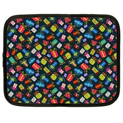 Christmas Pattern Netbook Case (large) by tarastyle