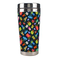Christmas Pattern Stainless Steel Travel Tumblers by tarastyle