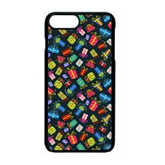 Christmas Pattern Apple Iphone 7 Plus Seamless Case (black) by tarastyle