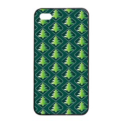 Christmas Pattern Apple Iphone 4/4s Seamless Case (black) by tarastyle