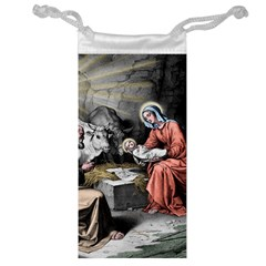 The Birth Of Christ Jewelry Bag by Valentinaart