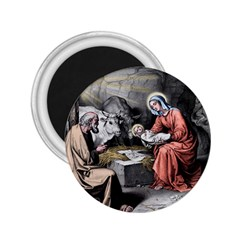 The Birth Of Christ 2 25  Magnets by Valentinaart
