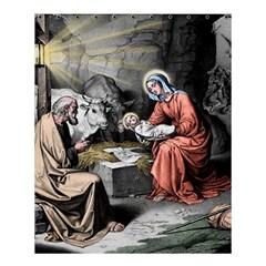 The Birth Of Christ Shower Curtain 60  X 72  (medium)  by Valentinaart