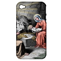 The Birth Of Christ Apple Iphone 4/4s Hardshell Case (pc+silicone) by Valentinaart