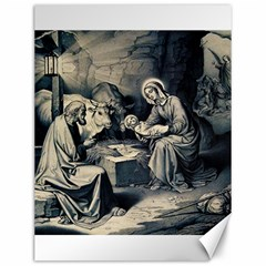 The Birth Of Christ Canvas 12  X 16   by Valentinaart