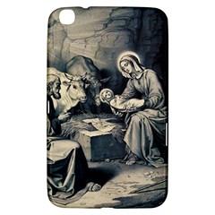 The Birth Of Christ Samsung Galaxy Tab 3 (8 ) T3100 Hardshell Case  by Valentinaart
