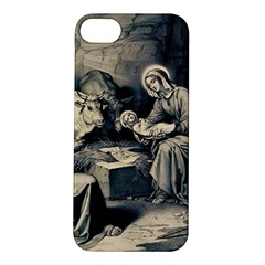 The Birth Of Christ Apple Iphone 5s/ Se Hardshell Case by Valentinaart
