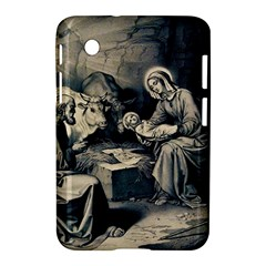 The Birth Of Christ Samsung Galaxy Tab 2 (7 ) P3100 Hardshell Case  by Valentinaart