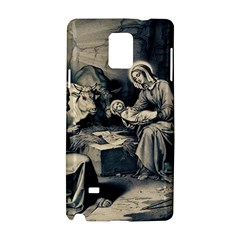 The Birth Of Christ Samsung Galaxy Note 4 Hardshell Case by Valentinaart