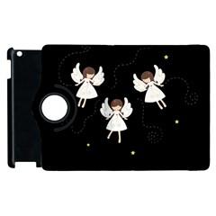 Christmas Angels  Apple Ipad 3/4 Flip 360 Case by Valentinaart
