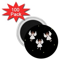 Christmas Angels  1 75  Magnets (100 Pack)  by Valentinaart