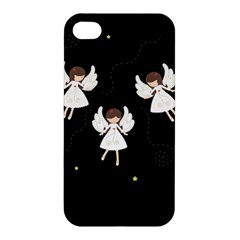 Christmas Angels  Apple Iphone 4/4s Hardshell Case by Valentinaart