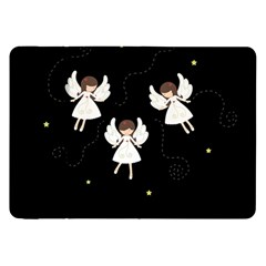 Christmas Angels  Samsung Galaxy Tab 8 9  P7300 Flip Case by Valentinaart