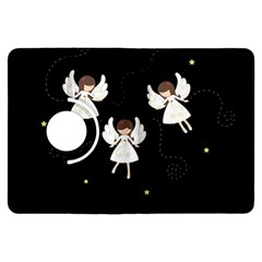 Christmas Angels  Kindle Fire Hdx Flip 360 Case by Valentinaart