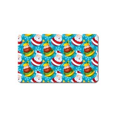 Christmas Pattern Magnet (name Card) by tarastyle