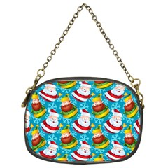 Christmas Pattern Chain Purses (two Sides)  by tarastyle