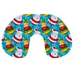Christmas Pattern Travel Neck Pillows by tarastyle