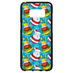 Christmas Pattern Samsung Galaxy S8 Black Seamless Case by tarastyle