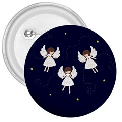 Christmas Angels  3  Buttons by Valentinaart