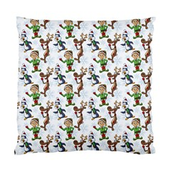 Christmas Pattern Standard Cushion Case (two Sides) by tarastyle