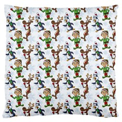 Christmas Pattern Large Cushion Case (one Side) by tarastyle