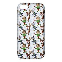 Christmas Pattern Apple Iphone 5c Hardshell Case by tarastyle