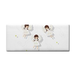 Christmas Angels  Cosmetic Storage Cases by Valentinaart