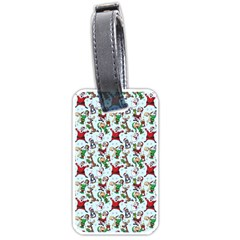 Christmas Pattern Luggage Tags (one Side)  by tarastyle