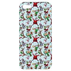 Christmas Pattern Apple Iphone 5 Hardshell Case by tarastyle