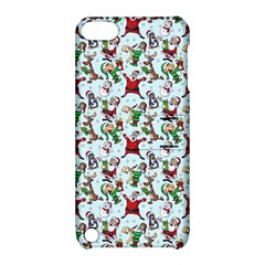Christmas Pattern Apple Ipod Touch 5 Hardshell Case With Stand by tarastyle