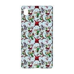 Christmas Pattern Sony Xperia Z3+ by tarastyle