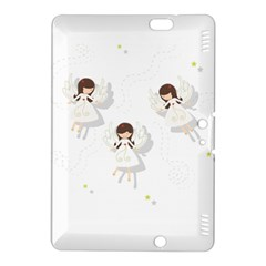 Christmas Angels  Kindle Fire Hdx 8 9  Hardshell Case by Valentinaart