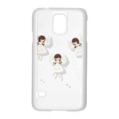 Christmas Angels  Samsung Galaxy S5 Case (white) by Valentinaart