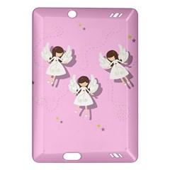 Christmas Angels  Amazon Kindle Fire Hd (2013) Hardshell Case by Valentinaart