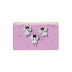Christmas Angels  Cosmetic Bag (xs) by Valentinaart