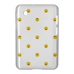 Happy Sun Motif Kids Seamless Pattern Samsung Galaxy Tab 2 (7 ) P3100 Hardshell Case  by dflcprintsclothing