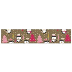 Christmas Pattern Small Flano Scarf by tarastyle