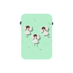 Christmas Angels  Apple Ipad Mini Protective Soft Cases by Valentinaart