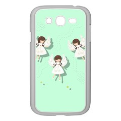 Christmas Angels  Samsung Galaxy Grand Duos I9082 Case (white) by Valentinaart