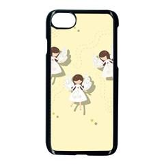 Christmas Angels  Apple Iphone 7 Seamless Case (black) by Valentinaart