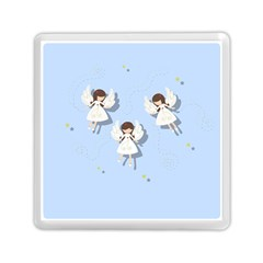 Christmas Angels  Memory Card Reader (square)  by Valentinaart