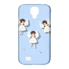 Christmas Angels  Samsung Galaxy S4 Classic Hardshell Case (pc+silicone) by Valentinaart