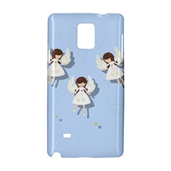 Christmas Angels  Samsung Galaxy Note 4 Hardshell Case by Valentinaart