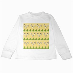 Christmas Angels  Kids Long Sleeve T Shirts by Valentinaart
