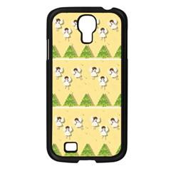 Christmas Angels  Samsung Galaxy S4 I9500/ I9505 Case (black) by Valentinaart