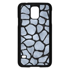 Skin1 Black Marble & Silver Paint (r) Samsung Galaxy S5 Case (black) by trendistuff