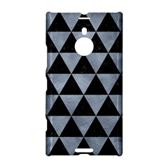 Triangle3 Black Marble & Silver Paint Nokia Lumia 1520 by trendistuff